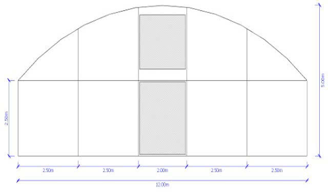 greenlife structures 12 metre habitat greenhouse sizing image