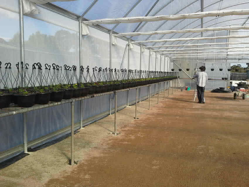 greenlife structures 12 metre habitat greenhouse