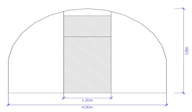 greenlife structures 4 metre habitat greenhouse sizing image