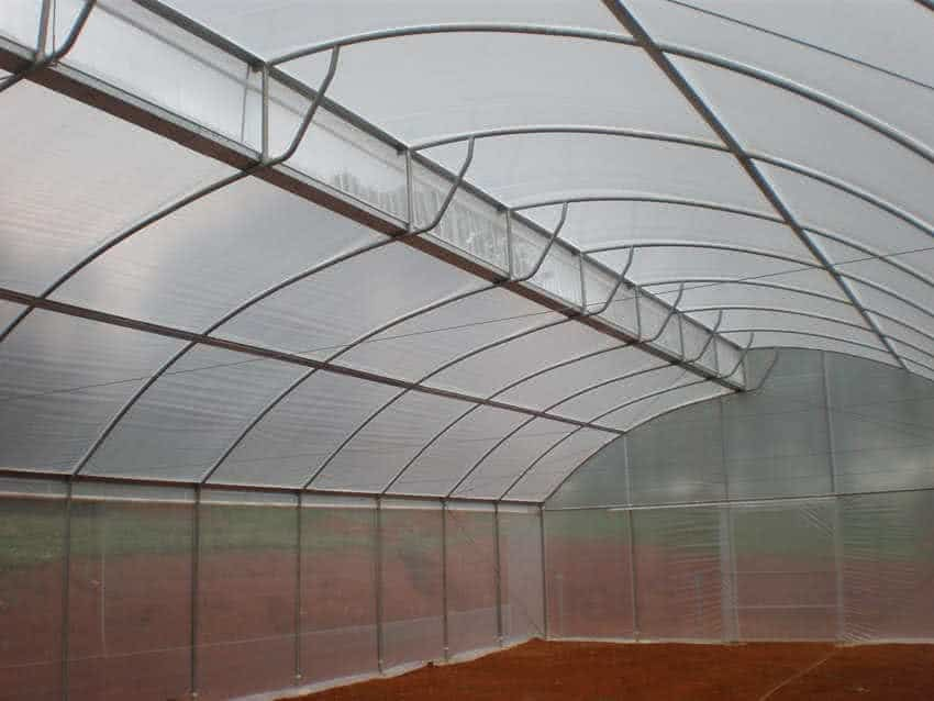 greenlife structures 8 metre sawtooth greenhouse