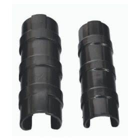 greenhouse ventilation - black pipe clip