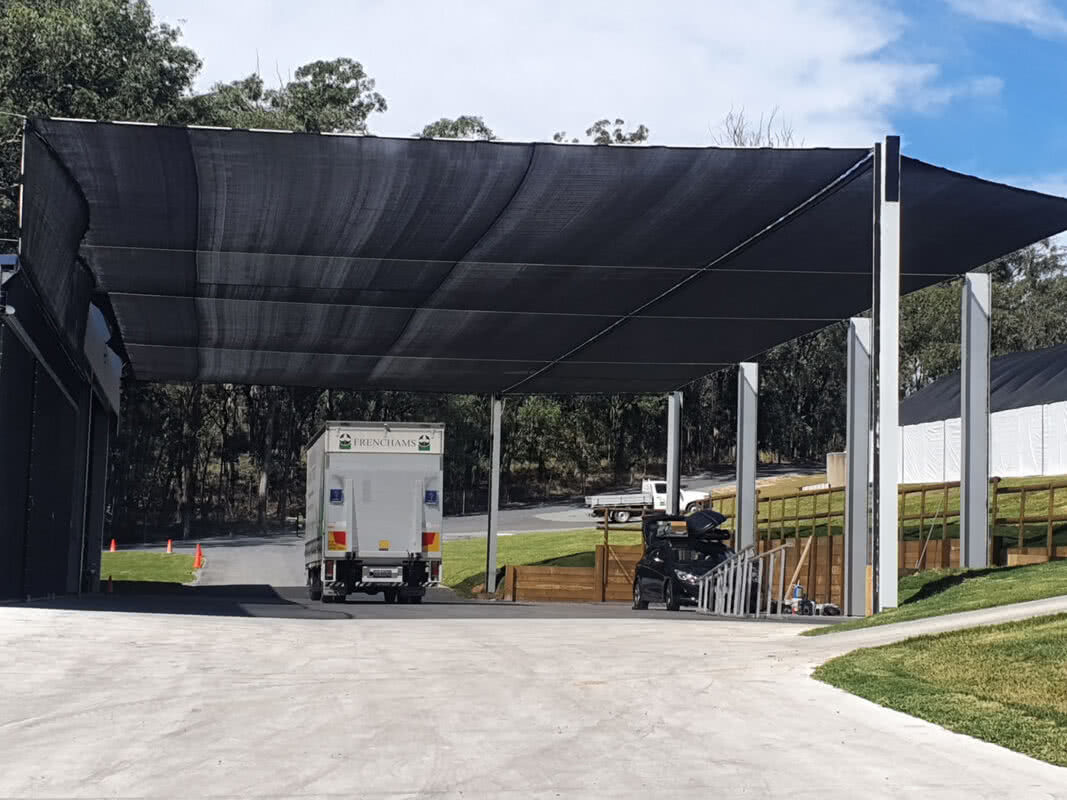 2020 asset protection truck bay shade sail cropped